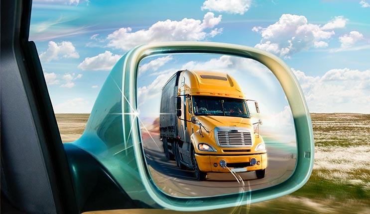 Driving Safely Around Semi Trucks