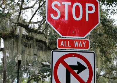 Stop Signs and Signals – Small Vehicles